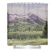 Lost Lake Colorado Shower Curtain