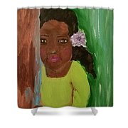 Lucky Lucy Shower Curtain