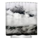 Lost Mountain Shower Curtain
