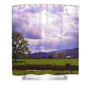 Lost River Heavens Shower Curtain