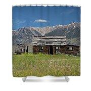 Lost River Range Cabin Shower Curtain