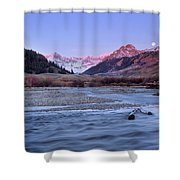 Lost River Range Shower Curtain