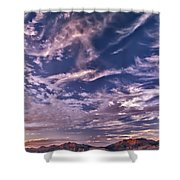 Lost River Sky Shower Curtain