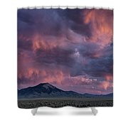 Lost River Sunset Shower Curtain