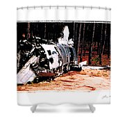 Lost Super Sabre Shower Curtain
