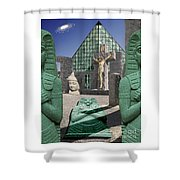 Lost Temple Of Alexandria Shower Curtain