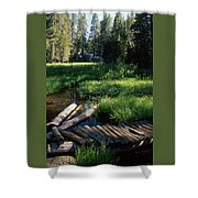 Lost Trout Creek Shower Curtain