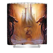 Lost Valley Shower Curtain