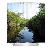 Lost Waterway Shower Curtain