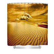 Lost Worlds Shower Curtain by Jacky Gerritsen