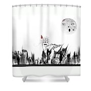 Lost Worship Shower Curtain