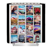 Loteria El Paso Shower Curtain