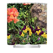 Lots Of Color Shower Curtain