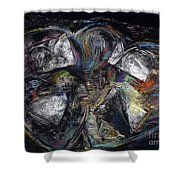 Lots Of Heart Shower Curtain