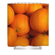 Lots Of Oranges Shower Curtain