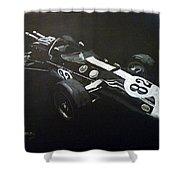 Lotus 38 No82 Shower Curtain
