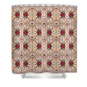 Lotus Bloom Spreading Peace In Mind Shower Curtain