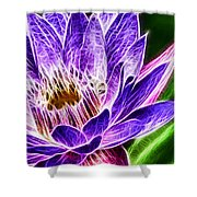 Lotus Close-up Shower Curtain