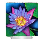 Lotus Divine Shower Curtain