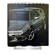 Lotus Esprit Shower Curtain