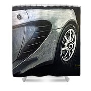 Lotus Exige Rear Side Shower Curtain