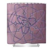 Lotus Flow 10-14-2015 #1 Shower Curtain