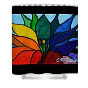 Lotus Flower 1 Shower Curtain