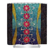 Lotus Garden Shower Curtain