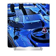Lotus In A Paddock Shower Curtain