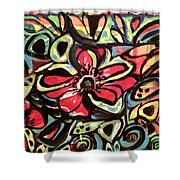 Lotus Petals Shower Curtain
