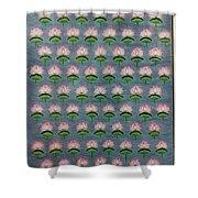 Lotus Pichwai Miniature Shower Curtain
