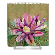 Lotus Series II - 2 Shower Curtain