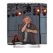 Lou Gramm Shower Curtain