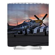 Lou Iv At Sunset Shower Curtain