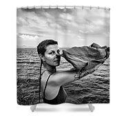 Lougaa Carine Shower Curtain