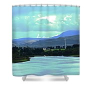 Lough Erne 2 Shower Curtain