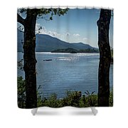 Lough Leane  Shower Curtain