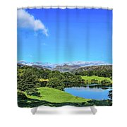 Loughrigg Tarn Shower Curtain