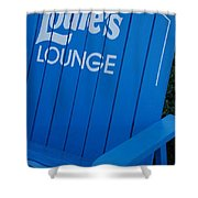Louie S Lounge Shower Curtain