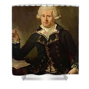 Louis Antoine De Bougainville 1790 Shower Curtain