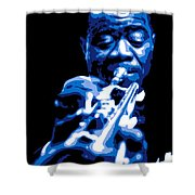 Louis Armstrong Shower Curtain