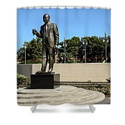 Louis Armstrong - Jazz Musician - New Orleans Shower Curtain