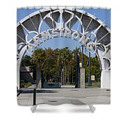 Louis Armstrong Park - New Orleans Louisiana Shower Curtain