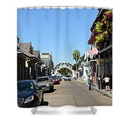 Louis Armstrong Park - Straight Ahead - New Orleans Shower Curtain