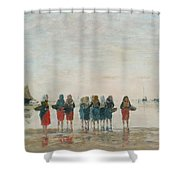 Louis Boudin Shower Curtain