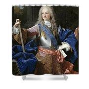 Louis De Bourbon Of Savoy. Prince Of Asturias. Later Louis I Of Spain  Shower Curtain