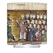Louis Ix (1214-1270) Shower Curtain