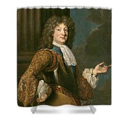 Louis Of France The Grand Dauphin Shower Curtain