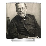 Louis Pasteur (1822-1895) Shower Curtain