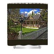 Louis Prang House Shower Curtain